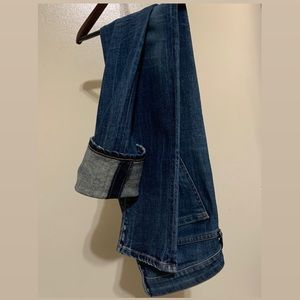 Citizens Of Humanity Straight Leg Denim Jeans